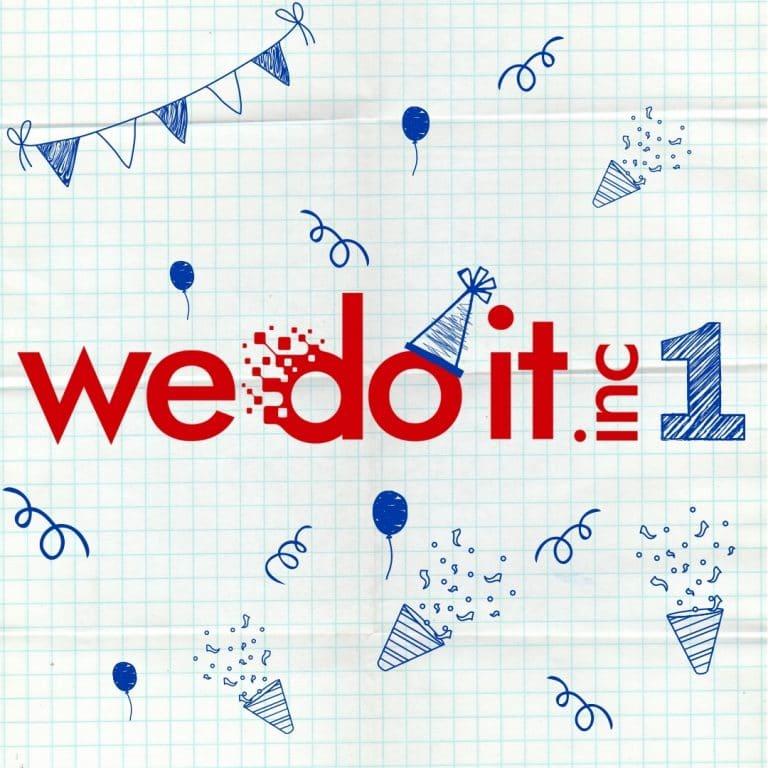 Aniversário Wedoiti digital