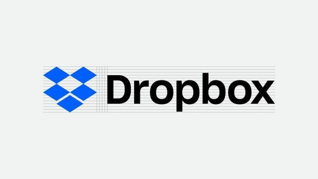 identidade visual dropbox
